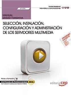 UF1276 manual servidores multimedia servicios Internet IFCT0509