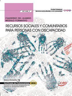 Cuaderno ejercicios MF1448_3 Recursos sociales comunitarios Discapacidad