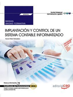Manual sistema contable informatizado UF0316 Gestión fiscal ADGD0108