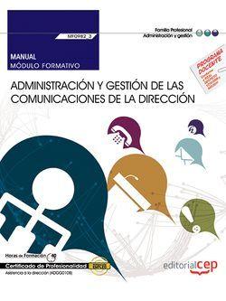 Manual MF0982_3 Administración Comunicaciones dirección transversal