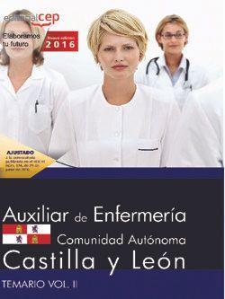 Comprar temario oposiciones auxiliar de enfermeria castilla y leon