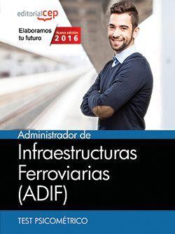 Administrador de Infraestructuras Ferroviarias (ADIF). Test psicométrico