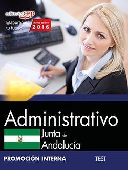 Administrativo (Promoción interna). Junta de Andalucía. Test