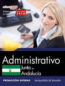 Modelos de examen oposiciones administrativo junta de andalucia