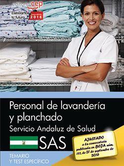 Personal de lavandería y planchado. Servicio Andaluz de Salud (SAS). Temario y test específico