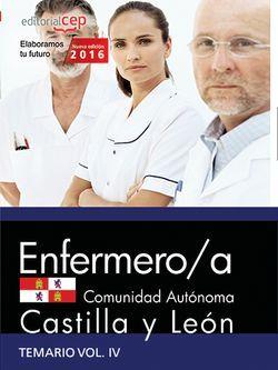 Enfermero/a de la Administración de la Comunidad de Castilla y León. Temario Vol. IV.