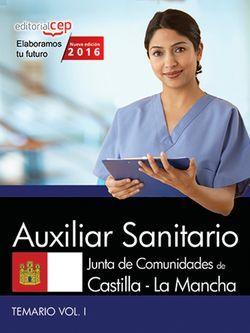 Temario Oposiciones Auxiliar Sanitario Castilla-La Mancha