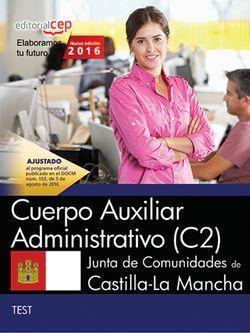 Test Oposiciones Cuerpo Auxiliar Castilla-La Mancha Adquirir