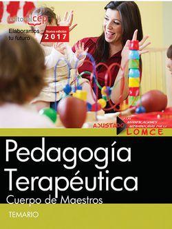 Cuerpo de Maestros. Pedagogía Terapéutica. Temario