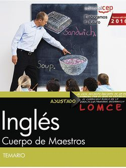 Cuerpo de Maestros. Inglés. Temario