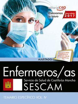 Temario Oposciciones Enfermero/a SESCAM Estudiar