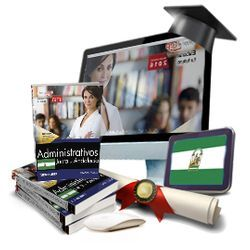 Oposiciones Pack de libros curso avanzado Administrativo Andalucía