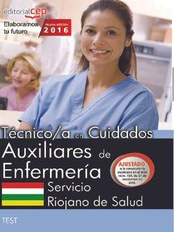 Oposiciones test Auxiliares de Enfermería Servicio Riojano de Salud