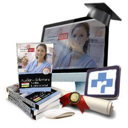 Pack de libros + curso avanzado. Técnico/a en Cuidados Auxiliares de Enfermería. Servicio Riojano de Salud