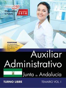 Oposiciones auxiliar administrativo Andalucia