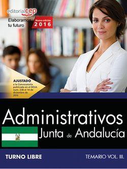 venta temario oposiciones administrativos junta de andalucia