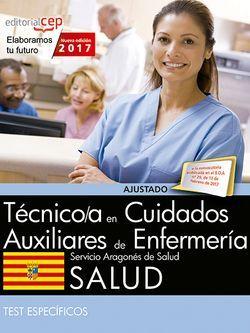 Técnico/a en cuidados auxiliares de enfermería. Servicio Aragonés de Salud. SALUD. Test específicos