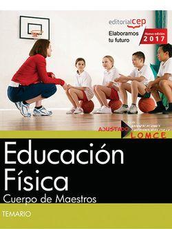 Temario Oposiciones Educación Física Cuerpo de Maestros