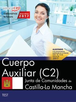 Test Oposiciones Cuerpo Auxiliar Junta Castilla-La Mancha