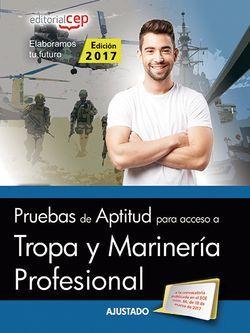 Pruebas de aptitud para acceso a Tropa y Marinería Profesional