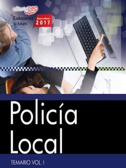 Policía Local. Temario Vol. I