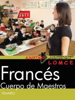 Temario Oposiciones Cuerpo de Maestros Primaria Francés