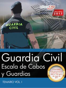 Temario Oposiciones Guardia Civil Escala Básica 2017 Comprar