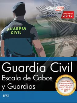 Guardia Civil. Escala de Cabos y Guardias. Test
