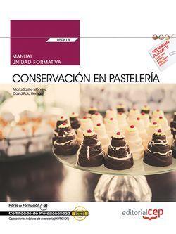 Manual UF0818 Conservación en pastelería MF1333_1 HOTR0109