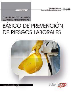 Cuaderno alumno especialidad FCOS02 Básico Prevención de Riesgos Laborales