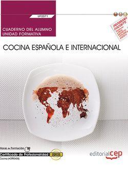 Cuaderno alumno UF0071 Cocina española e internacional MF0262_2 HOTR0408