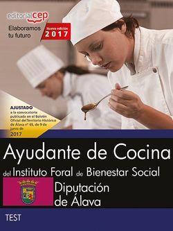 Test Oposiciones Ayudante de Cocina Diputación Álava