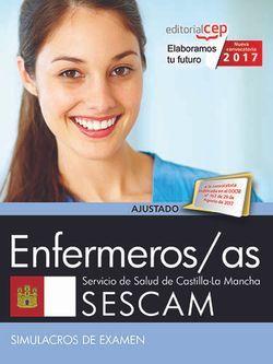 Enfermeros/as. Servicio de Salud de Castilla-La Mancha (SESCAM). Simulacros de examen