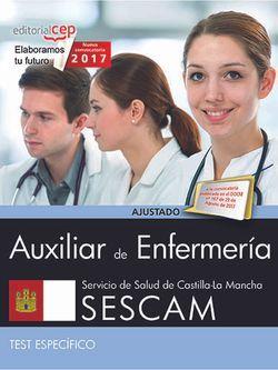 Auxiliar de enfermería. Servicio de Salud de Castilla-La Mancha (SESCAM). Test específicos