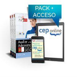 Pack de libros y Acceso gratuito. Auxiliar de la Función Administrativa. Servicio de Salud de Castilla - La Mancha (SESCAM)