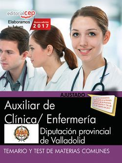 Temario y test Auxiliar de Clínica / Enfermería Diputación de ...