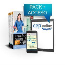 Pack de libros y Acceso gratuito. Técnico/a en cuidados auxiliares de enfermería. Servicio Aragonés de Salud. SALUD