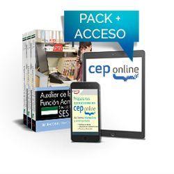 Pack de libros y Acceso gratuito. Auxiliar de la Función Administrativa. Servicio Extremeño de Salud (SES)