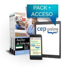 Pack de libros y Acceso gratutito. Auxiliar de Enfermería. Servicio Extremeño de Salud (SES)