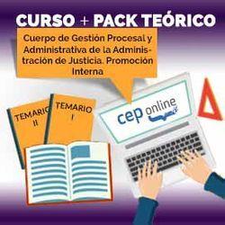 Curso + Pack Teórico. Cuerpo de Gestión Procesal y Administrativa de la Administración de Justicia. Promoción Interna