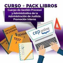 Curso + Pack Libros. Cuerpo de Gestión Procesal y Administrativa de la Administración de Justicia. Promoción Interna