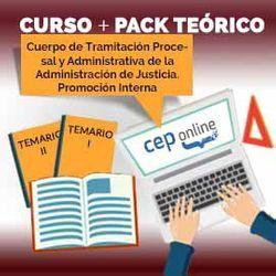 Curso + Pack Teórico. Cuerpo de Tramitación Procesal y Administrativa de la Administración de Justicia. Promoción Interna