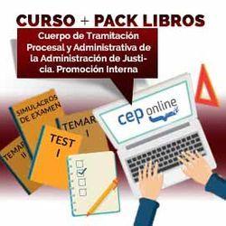 Curso + Pack Libros. Cuerpo de Tramitación Procesal y Administrativa de la Administración de Justicia. Promoción Interna