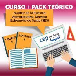 Curso + Pack Teórico. Auxiliar de la Función Administrativa. Servicio Extremeño de Salud (SES)