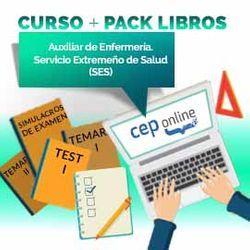 Curso + Pack Libros. Auxiliar de Enfermería. Servicio Extremeño de Salud (SES)
