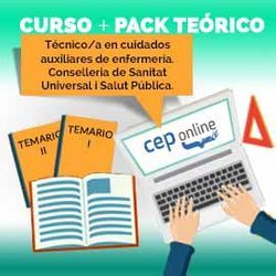 Curso + Pack Teórico. Técnico/a en cuidados auxiliares de enfermería. Conselleria de Sanitat Universal i Salut Pública. Generalitat Valenciana