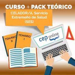 Curso + Pack Teórico. Celador/a. Servicio Extremeño de Salud (SES)