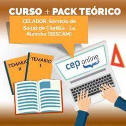 Curso + Pack Teórico. Celador. Servicio de Salud de Castilla - La Mancha (SESCAM)