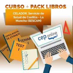 Curso + Pack Libros. Celador. Servicio de Salud de Castilla - La Mancha (SESCAM)