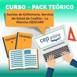 Curso + Pack Teórico. Auxiliar de Enfermería. Servicio de Salud de Castilla - La Mancha (SESCAM)